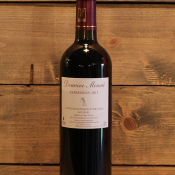 Domaine Mounié 'Expression' Côtes du Roussillon - Tautavel 2011