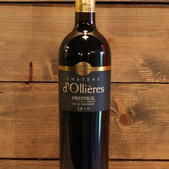 Châteu d'Ollières 'Prestige' AOP Coteaux Varois en Provence 2010