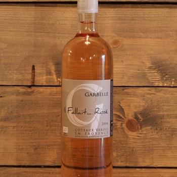 Domaine de Garbelle 'Il Fallait Rosé...' AOP Coteaux Varois en Provence 2015
