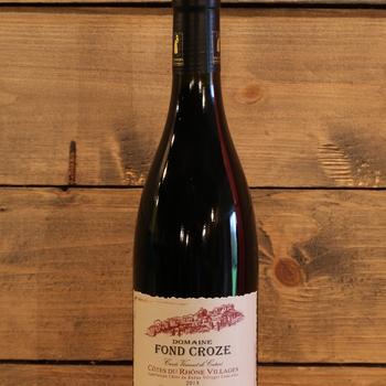 Domaine Fond Croze 'Vincent de Catari' AOP Côtes du Rhône Village 2013
